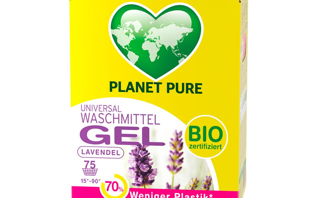 Bio Waschmittel Gel Bag in Box Lavendel 3L