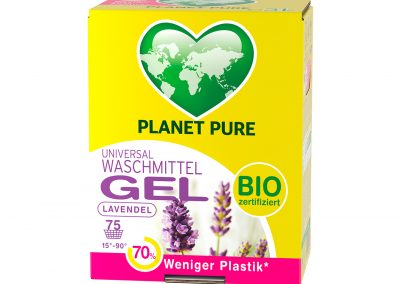 Bio Waschmittel Gel Bag in Box Lavendel 3L