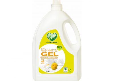 Bio Waschmittel GEL Bunt Kamille Orange 3L