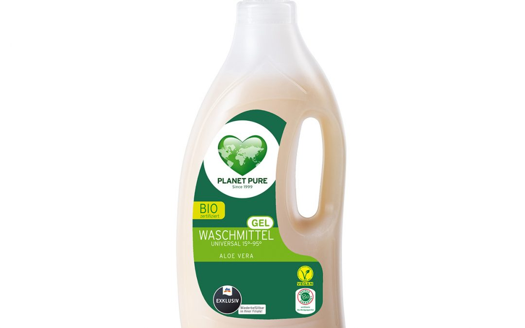 Bio Waschmittel GEL Aloe Vera 1,5L