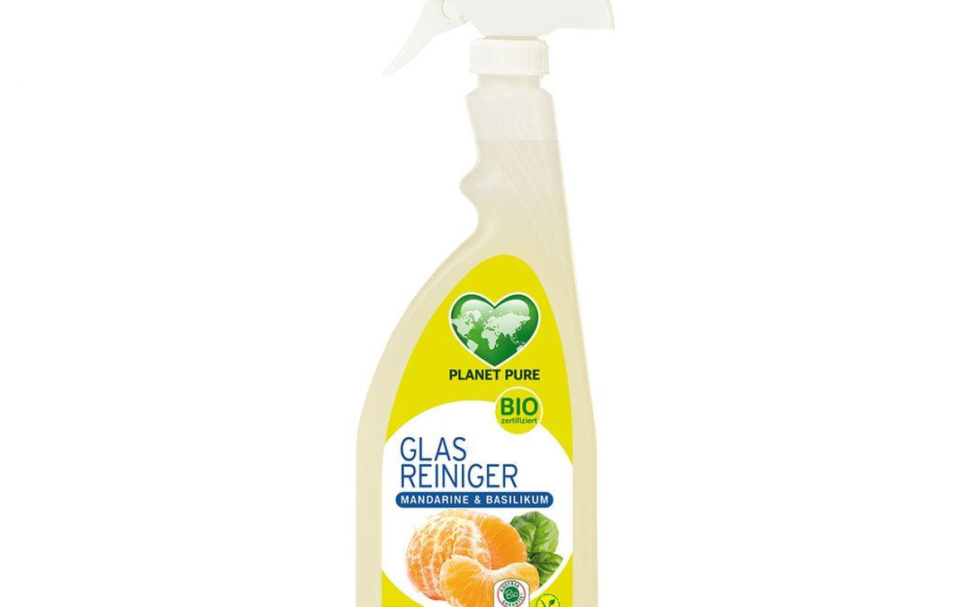 Bio Glasreiniger Mandarine & Basilikum Spray 510ml