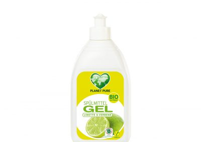 Bio Spülmittel GEL Limette & Verbene 500ml