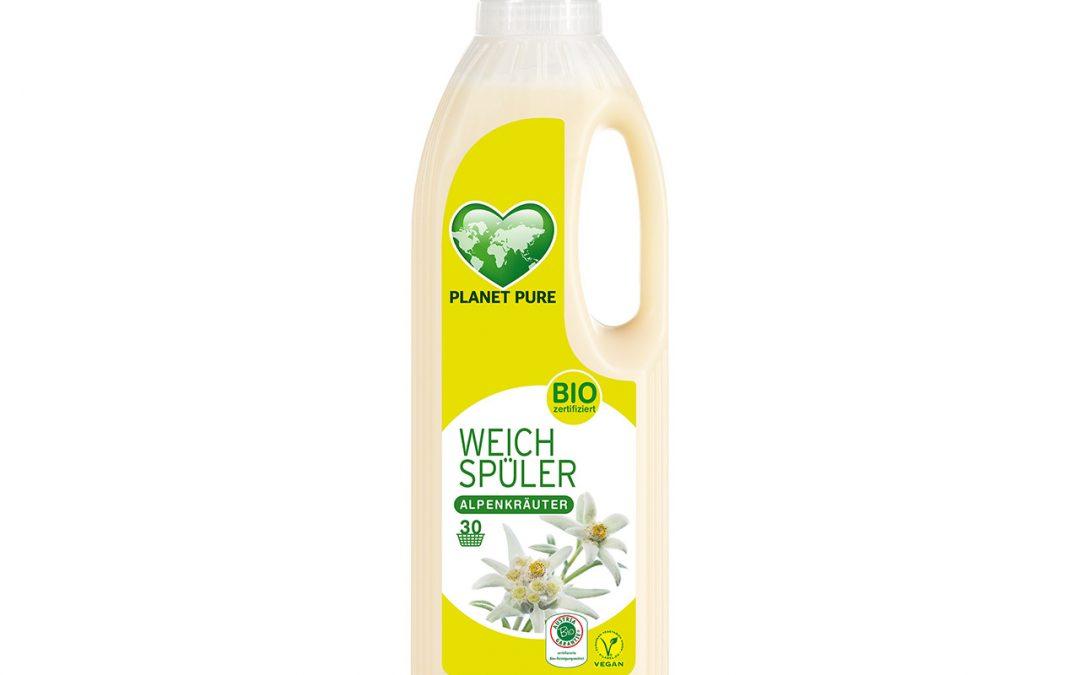 Bio Weichspüler Frische Alpenkräuter 1L