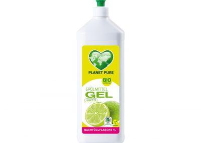 Bio Spülmittel GEL Limette 1L