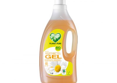 Bio Waschmittel GEL Kamille Orange 1,5L