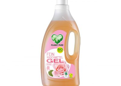 Bio Feinwaschmittel GEL Rose 1,5L